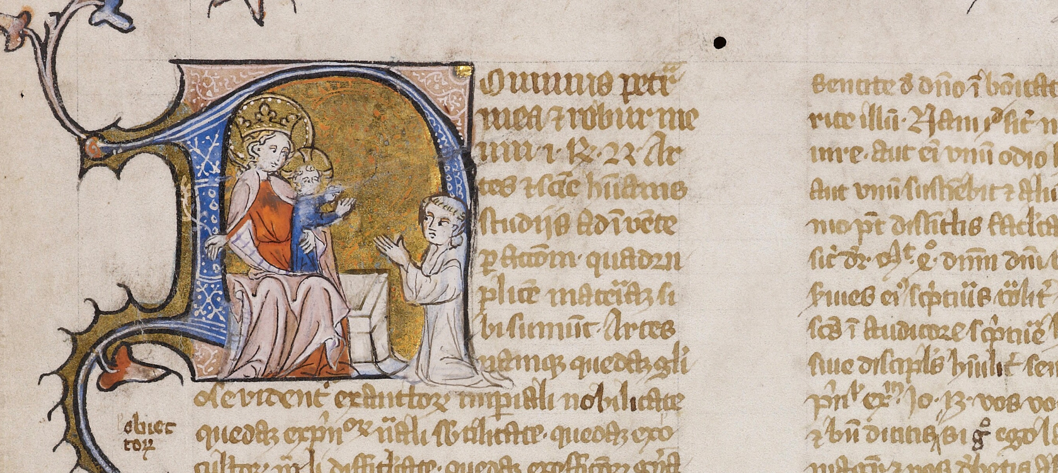 Bodleian Library MS. Laud Misc. 562, fol. 1r